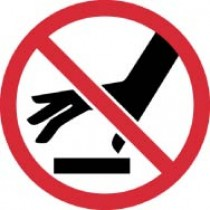 Do Not Touch Surface ISO Label (#ISO425AP)