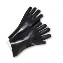 Standard Rough PVC Jersey Lined Black (#J1047RF)