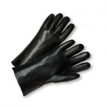 "Standard Smooth Black PVC Jersey Lined 12"" (#J1027)"