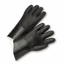 "West Chester® PVC Dipped Glove with Jersey Liner and Rough Acid Finish - 12""  (#J212)"