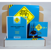Hand and Power Tool Safety in Construction Environments DVD Kit (#K0000769ET)