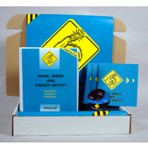 Hand, Wrist, and Finger Safety in Construction Environments DVD Kit (#K0000779ET)