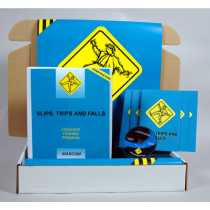 Slips, Trips, and Falls in Construction Environments DVD Kit (#K0003339ET)