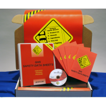 GHS Safety Data Sheets in Construction Environments DVD Kit (#K0003589ET)