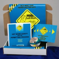 Hot Work Safety and the Permitting Process DVD Kit (#K0002879EM)