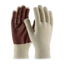 PIP® Seamless Knit Cotton / Polyester Glove with PVC Palm Coating  (#K708SPC)