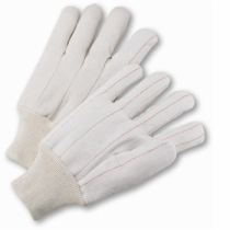 PIP® Cotton/Polyester Corded Double Palm Glove - Knitwrist  (#K81SCNI)