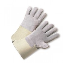 PIP® Shoulder Split Cowhide Leather Glove with Full Leather Back and Kevlar® Liner - Rubberized Gauntlet Cuff  (#KS900-EA)
