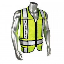 Breakaway Contrast Sheriff Safety Vest, Black Trim (#LHV-207-3G-SHF)