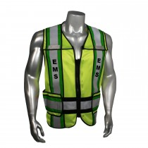 "Breakaway 4"" Contrast EMS Safety Vest, Black Trim (#LHV-207-4C-EMS)"