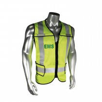Breakaway EMS Safety Vest, Black Trim (#LHV-5-PC-ZR-EMS)