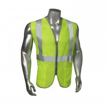 Class 2 Mesh Vest, Zipper (#LHV-5ANSI-PCZ)