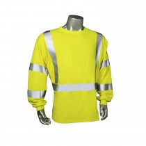 Fire Retardant Safety T-Shirt, long sleeve (#LHV-FR-TS-LS)