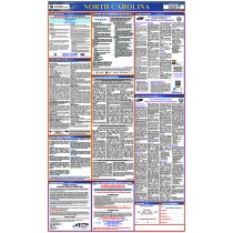 North Carolina Labor Law Poster (#LLP-NC)