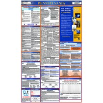 Pennsylvania Labor Law Poster (#LLP-PA)