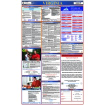 Virginia Labor Law Poster (#LLP-VA)