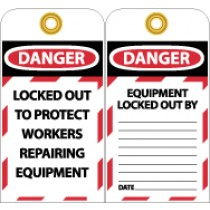 Locked Out To Protect Workers Tag (#LOTAG22)