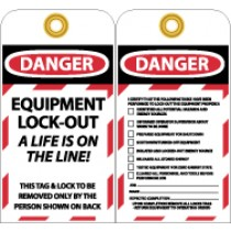 Equipment Lock-Out Tag (#LOTAG27)