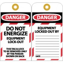 Do Not Energize Tag (#LOTAG8)