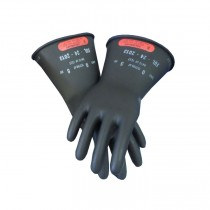 "Rubber Insulated Gloves, Class 0, 11"" Length (#LRIG-0-11)"