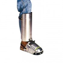 Men's Aluminum Alloy Shin-Foot Guard (#LW-400)