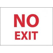 No Exit Sign (#M199)