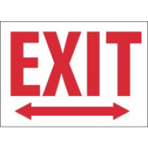 Exit (arrow both direction) Sign (#M214)