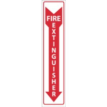 Fire Extinguisher 2-Vue Sign (#M23F)
