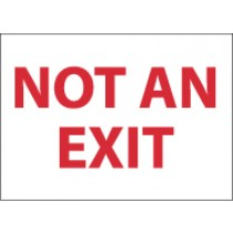 Not An Exit Sign (#M27)