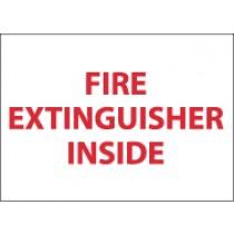 Fire Extinguisher Inside Sign (#M28)