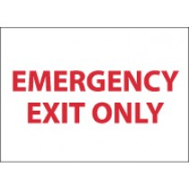 Emergency Exit Only Sign (#M34)