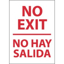 No Exit Spanish Sign (#M357)