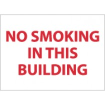 No Smoking In This Building Sign (#M359)