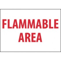 Flammable Area Sign (#M426)