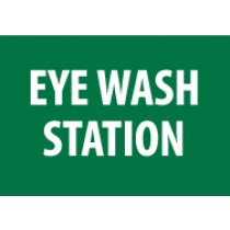 Eye Wash Station Sign (#M441)
