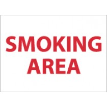 Smoking Area Sign (#M44)