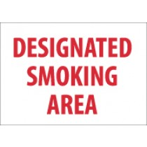 Designated Smoking Area Sign (#M701)