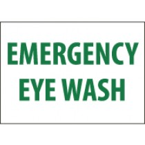 Emergency Eye Wash Sign (#M81)