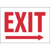 Exit (right arrow) Glow Sign (#MER)