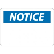 Notice Sign (blank) (#N1LF)