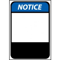 Notice Machine Label (blank) (#NGA15AP)