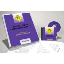 Orientation to Laboratory Safety Interactive CD (#C0001980ED)