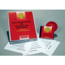 OSHA Recordkeeping for Managers and Supervisors Interactive CD (#C0003450ED)