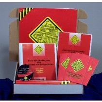 OSHA Recordkeeping for Managers and Supervisors DVD Kit (#K0003459EO)