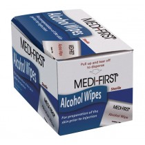 Alcohol Wipes, 50/bx (#P103150)