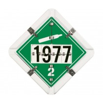 Combination Flip Placard for Pressure-Carrying Vehicles (#NMCPH4)