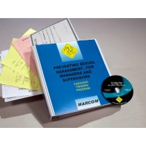 Preventing Sexual Harassment for Managers and Supervisors DVD Program (#V0002969EM)