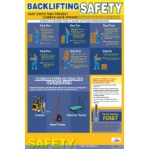 Back Lifting Safety Poster (#PST001)