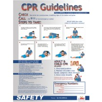 CPR Guidelines Poster (#PST004)