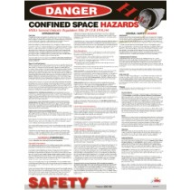 Confined Space Hazards Poster (#PST007)